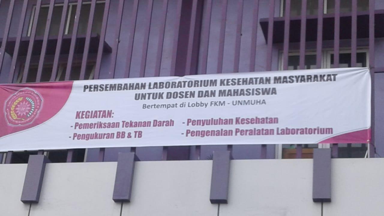 Perdana di FKM-UNMUHA