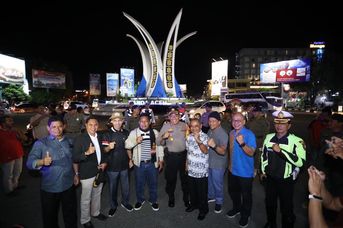 Zero Perayaan Malam Tahun Baru Aminullah Bukti Tingginya Toleransi Di Banda Aceh