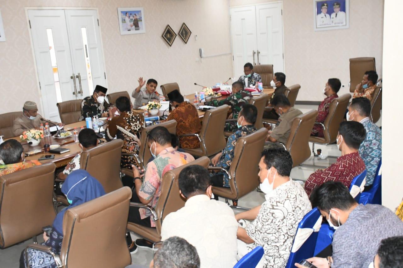 Rapat Forkopimda Banda Aceh