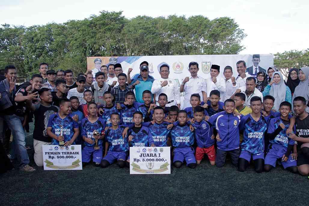 Smpn 3 Banda Aceh Juara Gala Siswa Indonesia